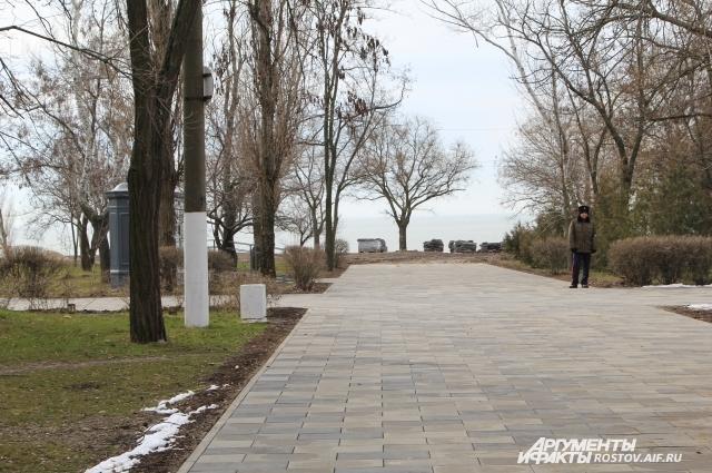 Парк считается любимым местом отдыха горожан.