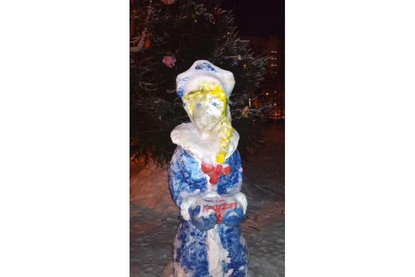 испорченная снегурочка