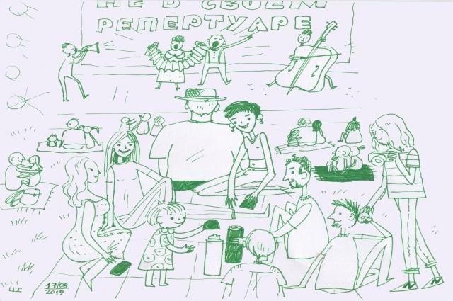 Мини-комиксы от Лизы Шелест.