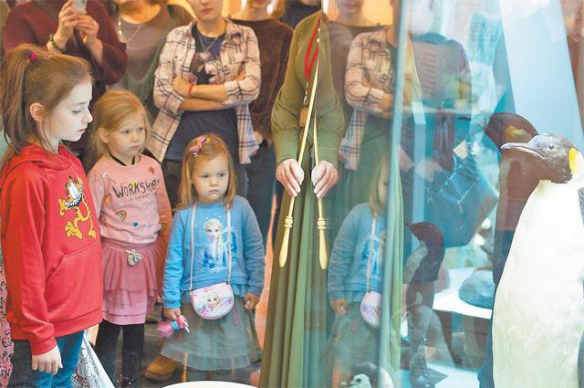 Дарвиновский музей приглашает на обучающие игры.