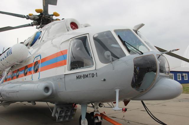 Новый вертолет МЧС находился в пути неделю.