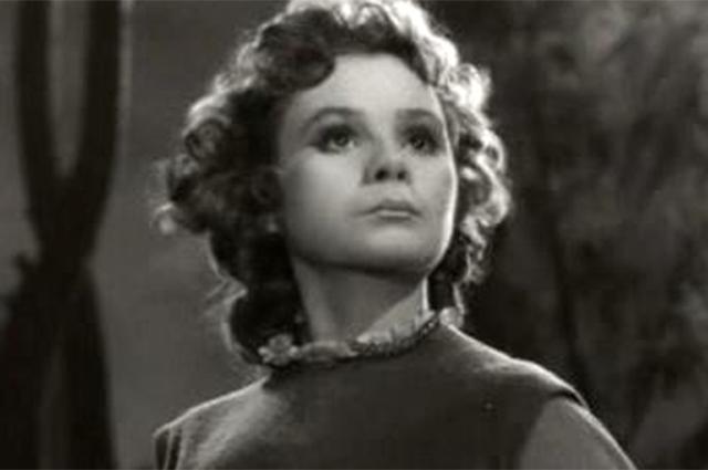 Мария Виноградова в фильме «Звёздный мальчик», 1957 г.