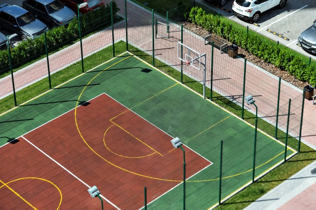 Спортивная площадка в ЖК
