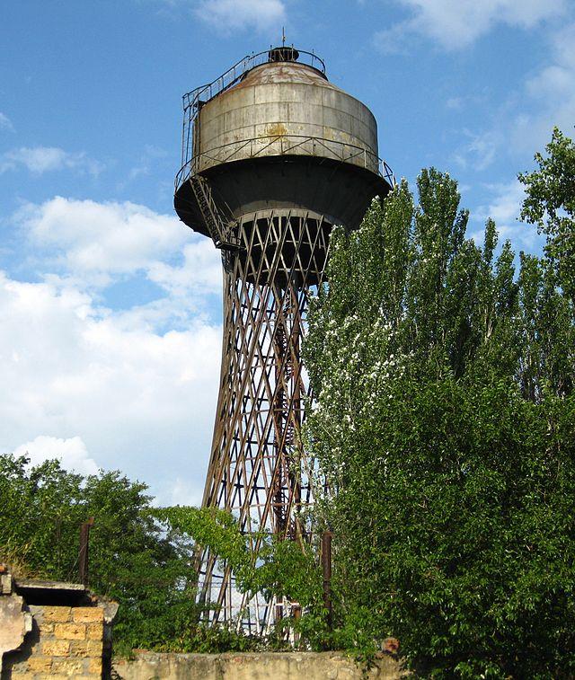 Гиперболоидная башня конструкции В. Г. Шухова в Николаеве