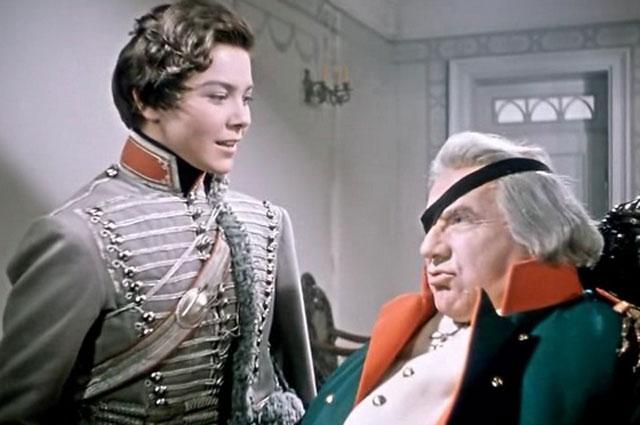 Кадр из фильма «Гусарская баллада», 1962 год