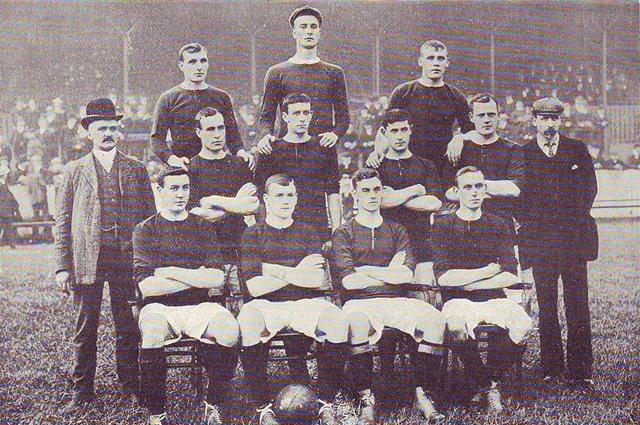 «Манчестер Юнайтед» в сезоне 1905-1906 года.