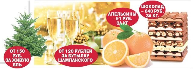 Главные атрибуты встречи Нового года.