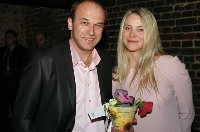 Андрей Чесноков с супругой.