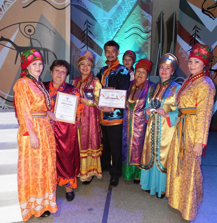 В сентябре шандинский этнокультурный центр  «Телекей» стал лауреатом VII межрегионального смотра деятельности этнокультурных центров коренных малочисленных народов Севера, Сибири и Дальнего Востока.