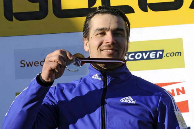 Россиянин Альберт Демченко стал победителем Чемпионта Европы по санному спорту, проходящего в латвийской Сигулде