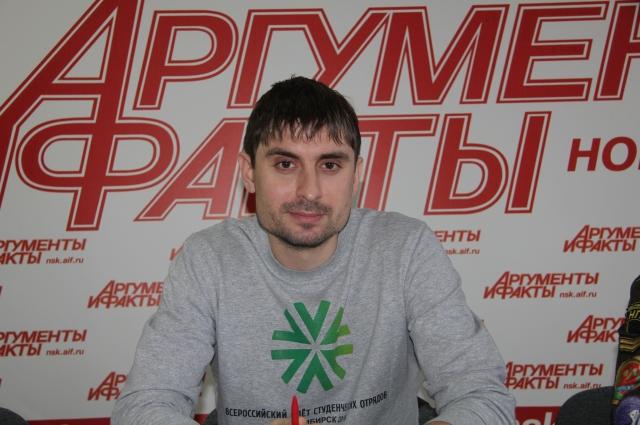 Председатель Новосибирского регионального отделения МООО «РСО» Руслан Фидирко