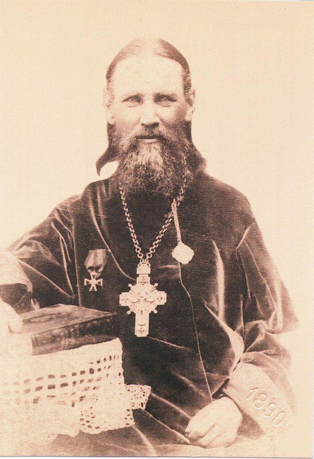 Иоанн Кронштадтский в Харькове. 1890 год. Фото А. Федецкого.
