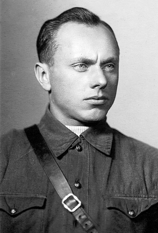 Разведчик А. Ботян, октябрь 1941 г.