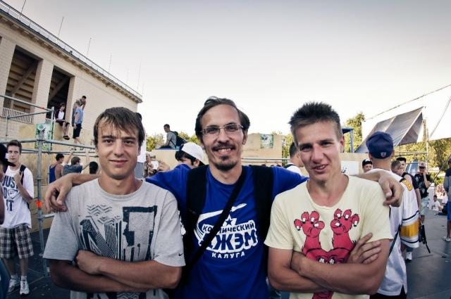 При помощи паркура Василий Лях пытается найти общий язык с современной молодежью.