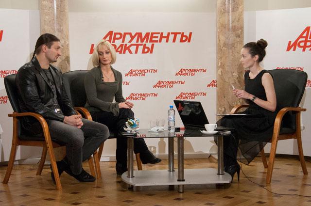 Интервью с Эдгардом Запашным и Еленой Бараненко