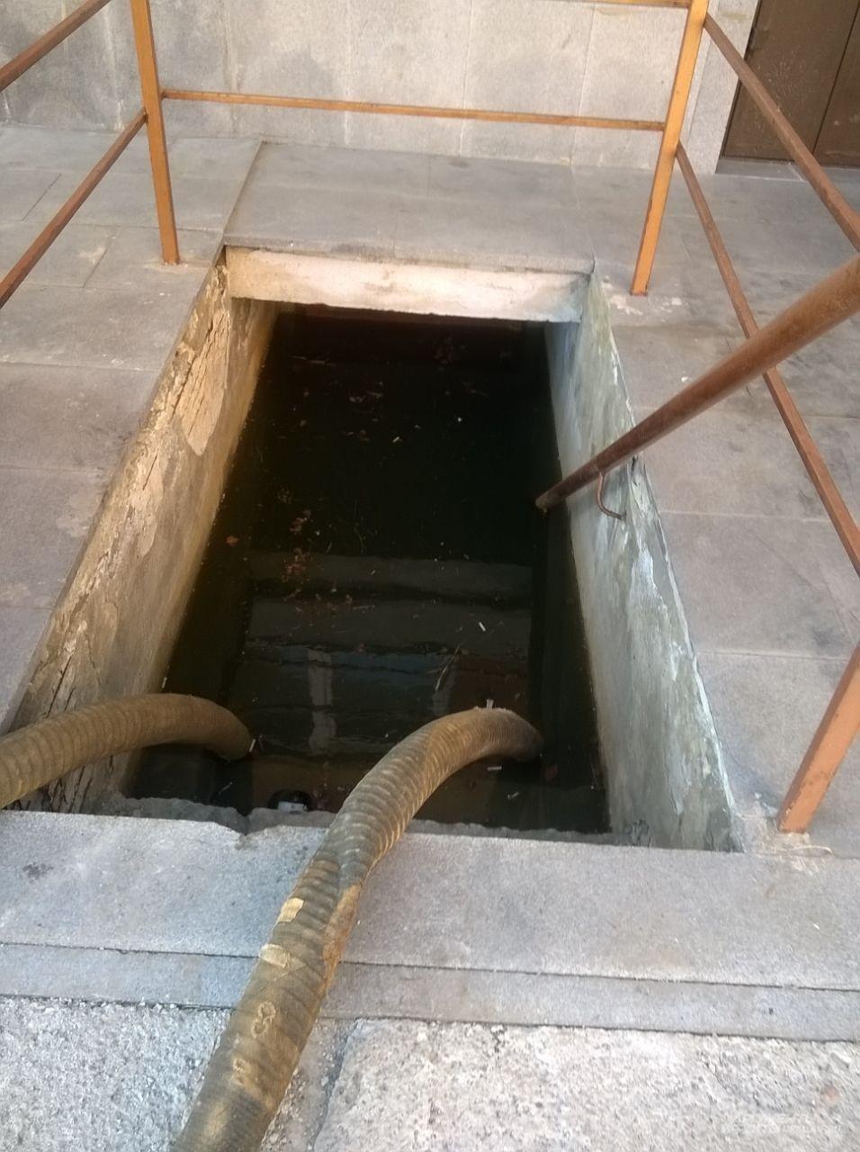 Потоп в Госпитале ВОВ на Соболева.
