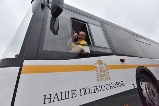 На подмосковные маршруты выходят новые автобусы.