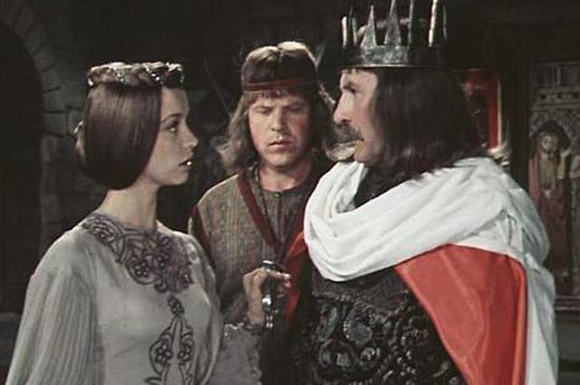 Владимир Зельдин в роли короля Перадора.