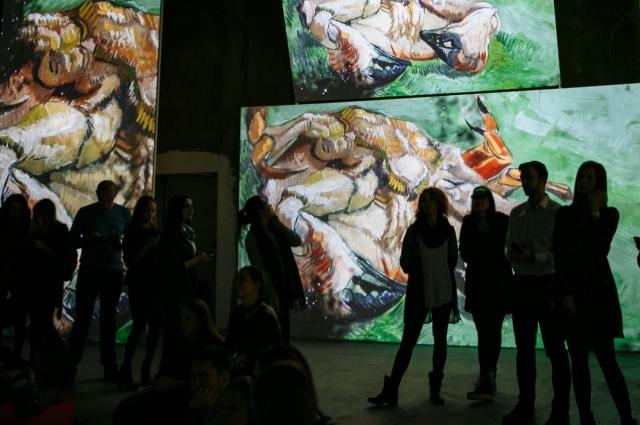 На выставке можно фотографировать и снимать на видео.