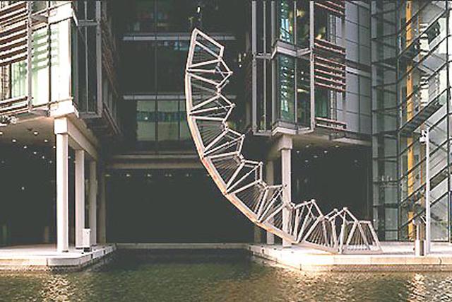 Скручивающийся мост, Лондон