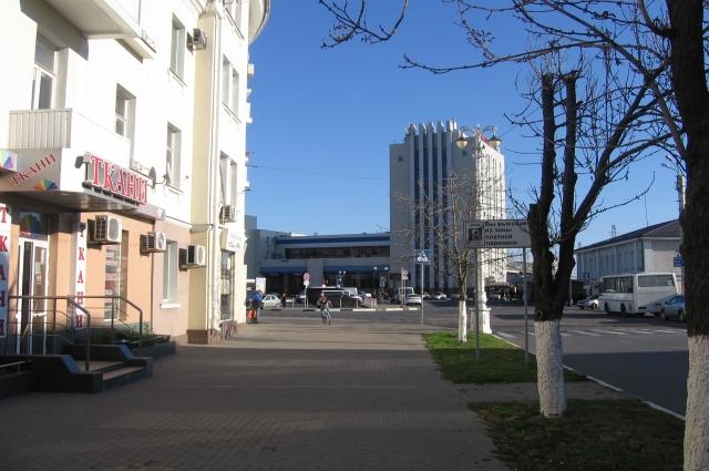 Большинство домов в Белгороде светлых тонов