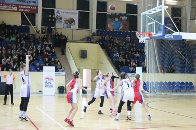 Многие из юных спортсменок не против связать свою жизнь с баскетболом.