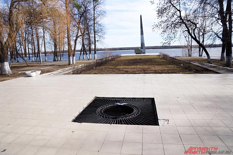 Мемориал Тыл - фронту один из негласных символов Закамска