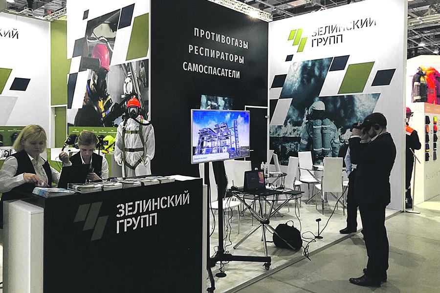 «Зелинский групп» постоянно участвует в мировых выставках.