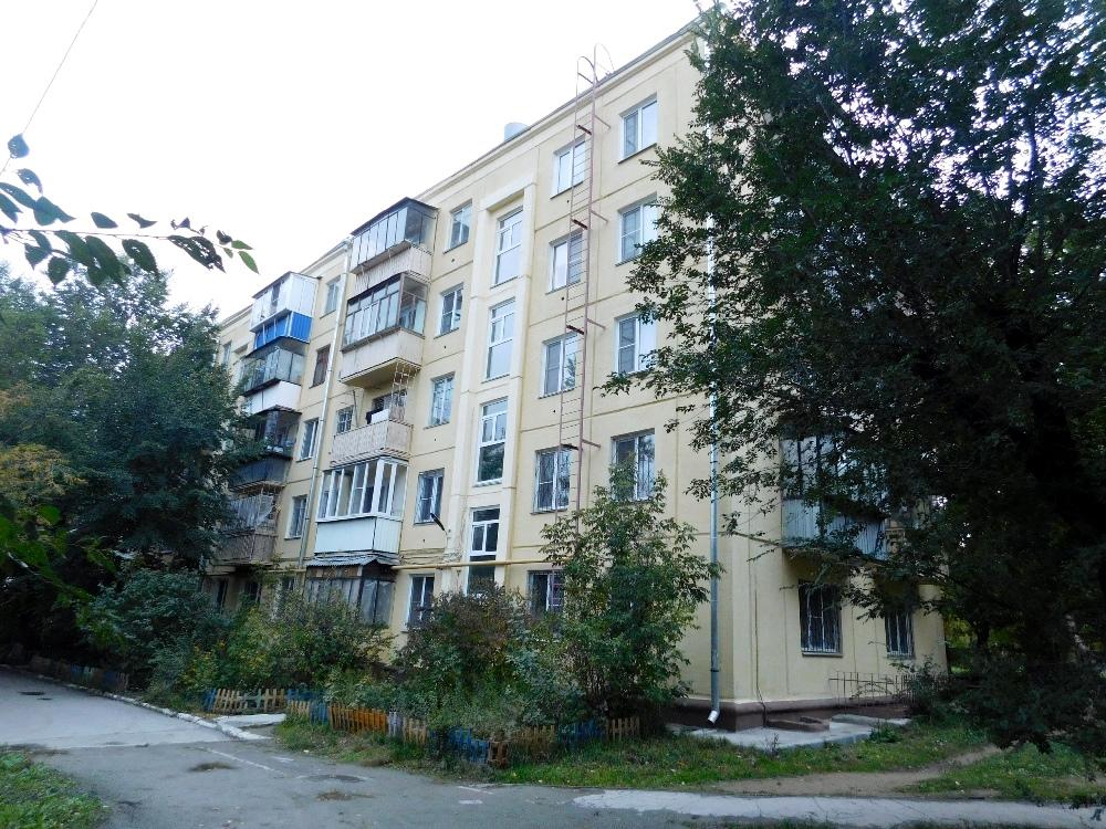 Первый панельный дом в Челябинске, Металлургический район.