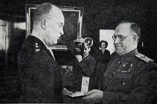 Дуайт Эйзенхауэр и Георгий Жуков.