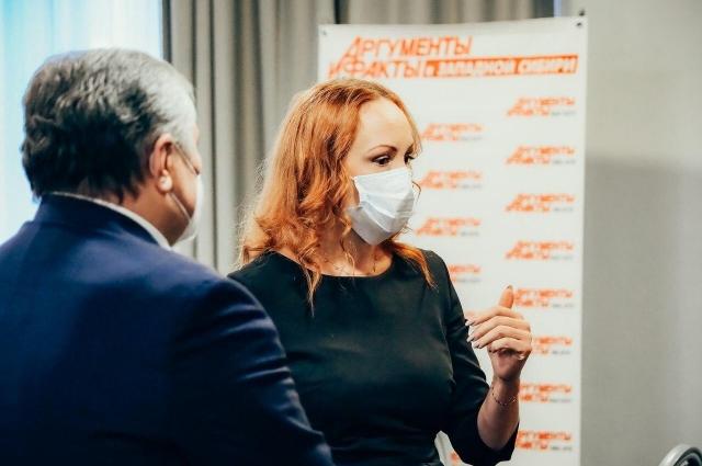 Депутат Тюменской областной думы Елена Кашкарова.