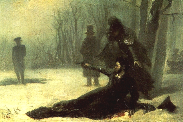 Дуэль Пушкина и Дантеса состоялась на Черной речке.