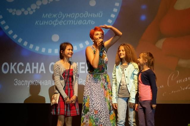 Оксана Сташенко.