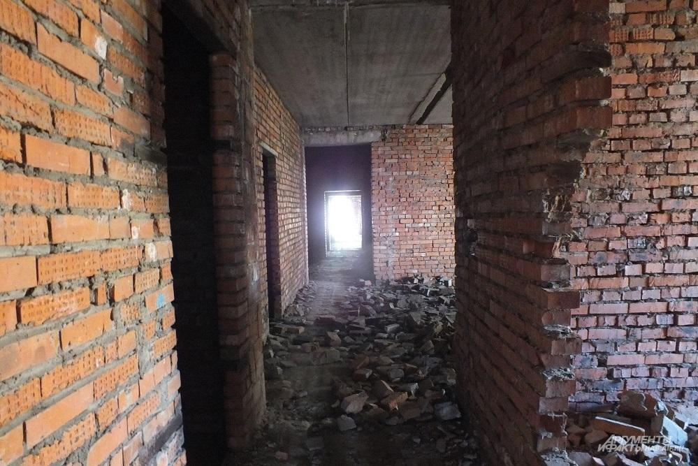 заброшеный крематорий