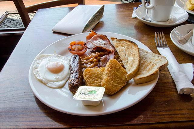 Английский завтрак.