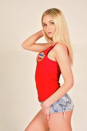 Екатерина - обладательница титула «Мисс-Енисей»