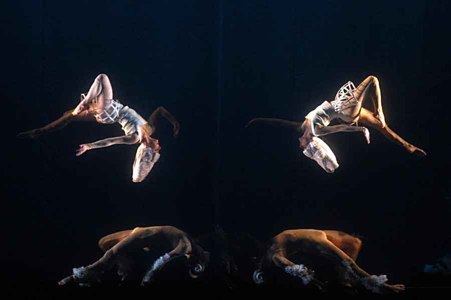 Итальянский спектакль поразил воронежцев летающими солистами и танцорами.