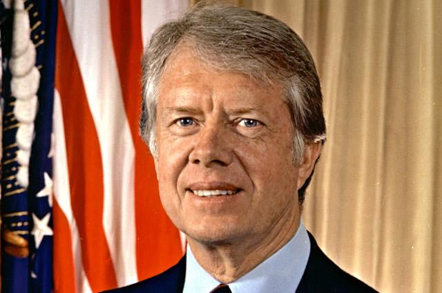 Джимми Картер в годы президентства.