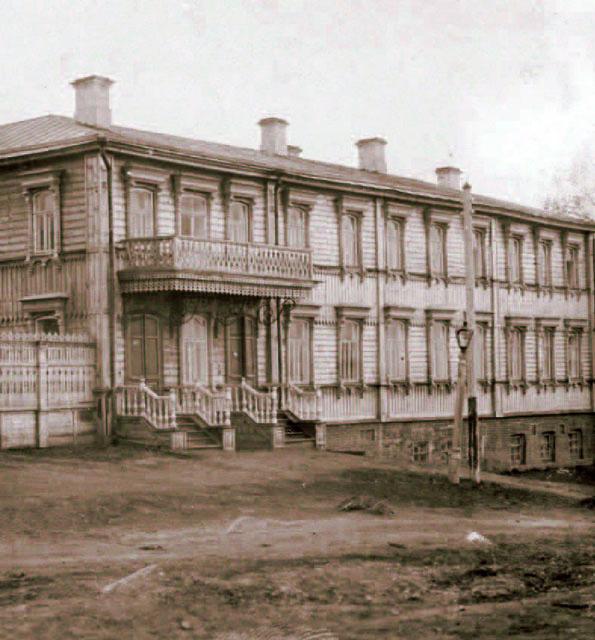 Дом Гернетов в Симбирске.