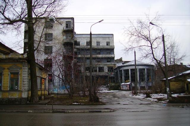 «Дом чекиста» в Нижнем Новгороде.