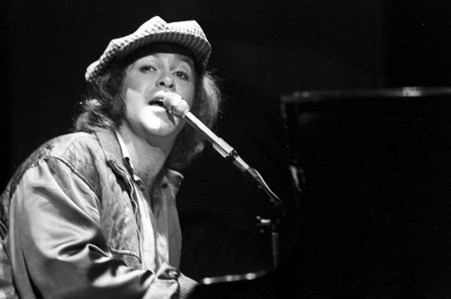Элтон Джон на гастролях в Москве. Государственный концертный зал «Россия». 1979 г.