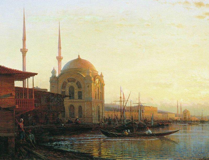 Алексей Боголюбов. Турецкая мечеть. Стамбул.