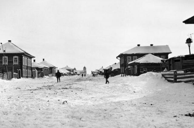 Нарым зимой 1913-1914 гг.