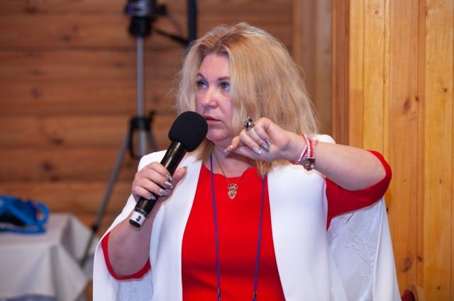 Галина Палаткина, профессор Астраханского госуниверситета.