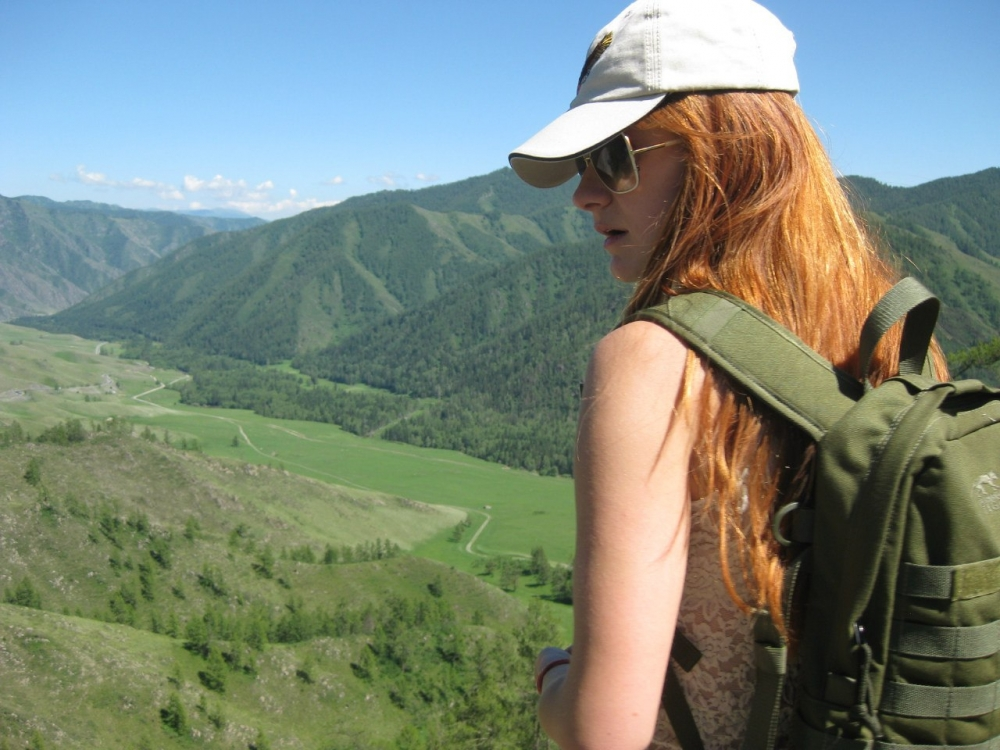 Чике-Таман, перевал, Чуйский тракт, 1400 м. 2014 год.