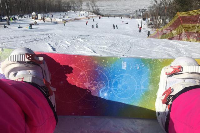 Мир со сноуборда выглядит иначе.