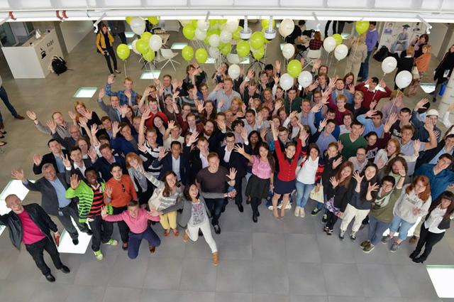 Студенты Сколтеха 1 сентября 2014 года