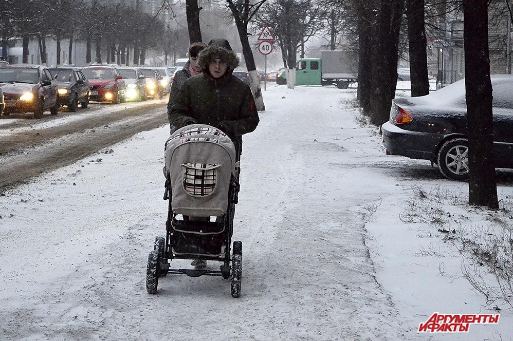 снег, метель, зима, изморозь