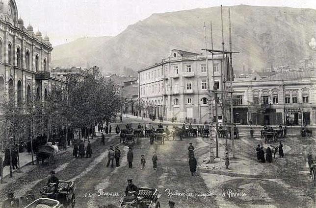 Площадь Эриванского в Тифлисе