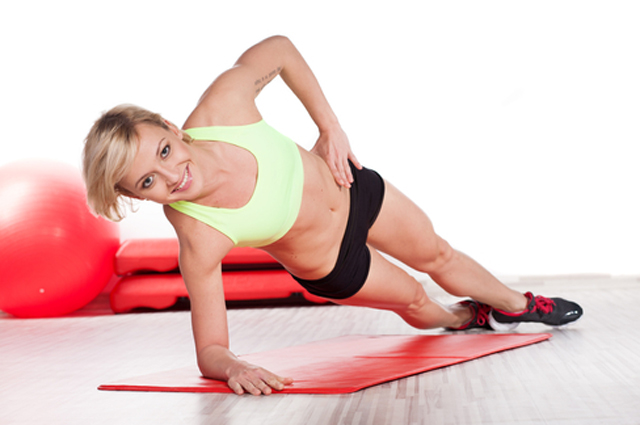 Фитнес, упражнения, пресс